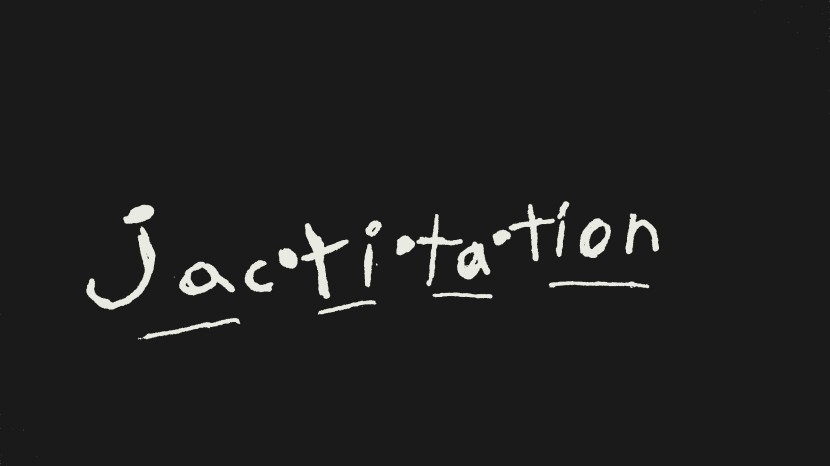 Random fact #5:Jactitation