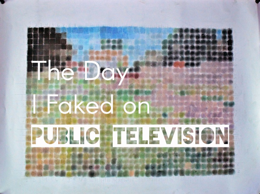 The Day I Faked on Public Television