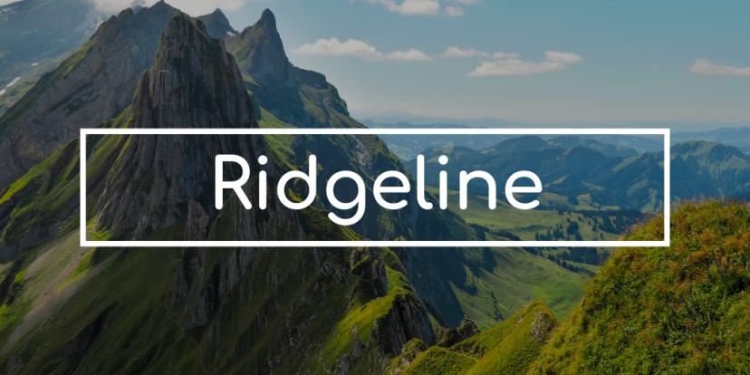 My Projects: Ridgeline